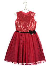 Girls Disney Boutique Minnie Mouse Occasion Dress