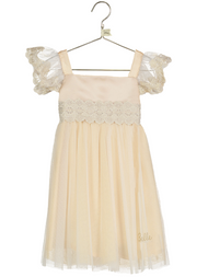 Girls Disney Boutique Belle Smock Occasion Dress