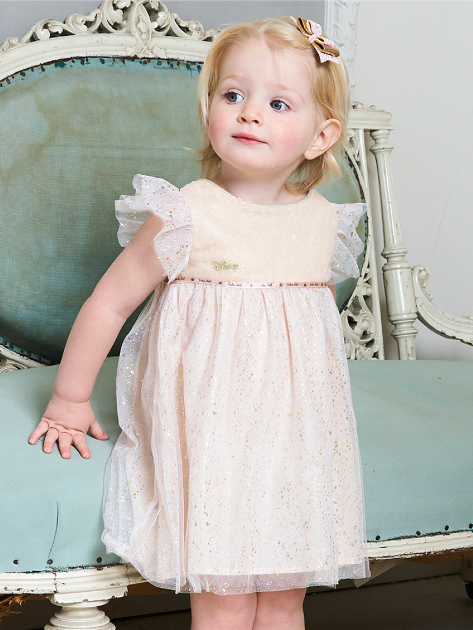 2efe69568c65f Baby Disney Boutique Tinkerbell Occasion Dress. Previous. Image 1 Click to  view full size image  Image 2