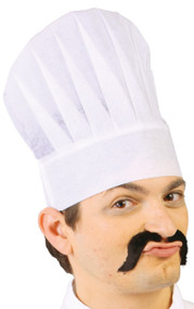 Adults Chef Fancy Dress Paper Hat