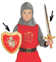 Child's Dragon Knight Fancy Dress Weapon Set