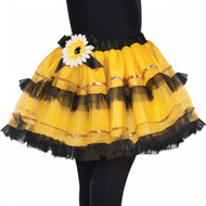 Girls Bumble Bee Fancy Dress Tutu