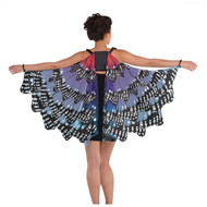 Ladies Monarch Butterfly Fancy Dress Wings