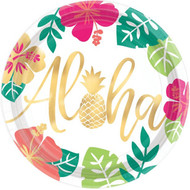 Aloha Summer Party Plates