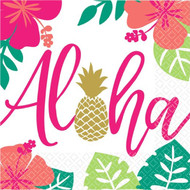 Aloha Summer Party Napkins