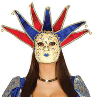 Ladies Venetian Fancy Dress Mask