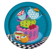 Mad Hatter Party Dessert Plates