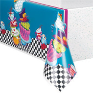 Mad Hatter Party Tablecover