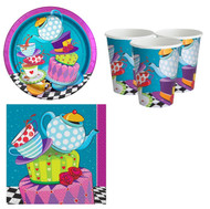 Mad Hatter Party Tableware Set