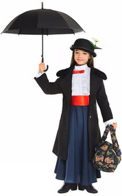 Girls Deluxe Nanny Fancy Dress Costume