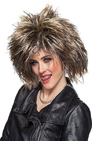 Ladies 80s Rock Wig