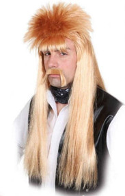 Adults Rocker Fancy Dress Wig