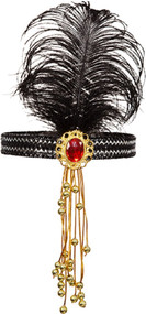Ladies Jewelled Flapper Headband