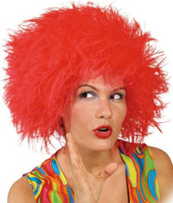 Adults Crazy Clown Fancy Dress Wig