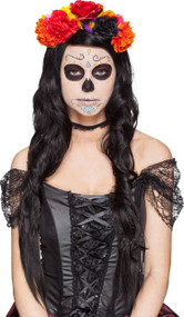 Ladies Day Of The Dead Hairband