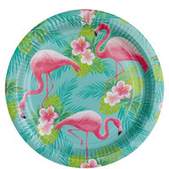 Flamingo Party Plates
