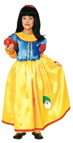 Girls Apple Princess Fancy Dress Costume