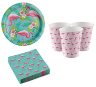 Flamingo Party Tableware Set