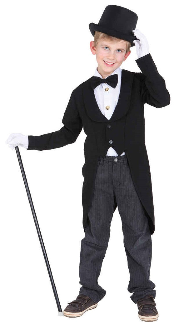 Childs Showman Fancy Dress Tailcoat Fancy Me Limited