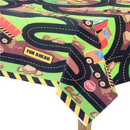 Construction Party Tablecover