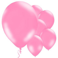 "Pink 11"" Latex Party Balloons"