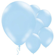 "Blue 11"" Latex Party Balloons"