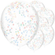 "11"" Latex Confetti Party Balloons"