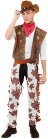Men's Cowboy Fancy Dress Costume
