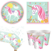 Magical Unicorn Complete Tableware Set