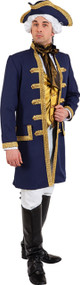 Mens Admiral Nelson Fancy Dress Costume