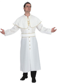 Mens Holy Pope Fancy Dress Costume
