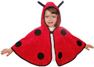 Child's  Ladybird Fancy Dress Cape
