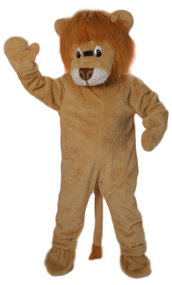 Adults Circus Lion Fancy Dress Costume
