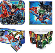 Justice League Complete Tableware Set