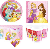 Disney Princess Complete Tableware Set