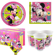Minnie Mouse Complete Tableware Set