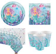 Magical Mermaid Complete Tableware Set