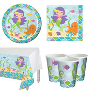 Mermaid Complete Tableware Set