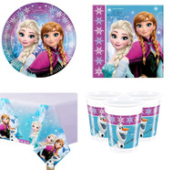 Frozen Complete Tableware Set
