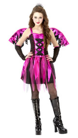 Girls Fiesty Fairy Fancy Dress Costume