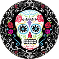 Day Of The Dead Party Plates