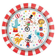 Circus Carnival Party Plates