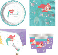 Disney Ariel Complete Tableware Set