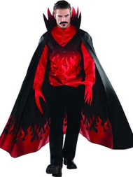 Mens Blood Devil Fancy Dress Costume