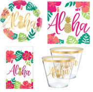 Aloha Summer Complete Tableware Set
