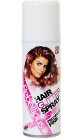 Prosecco Pink Glitter Hairspray