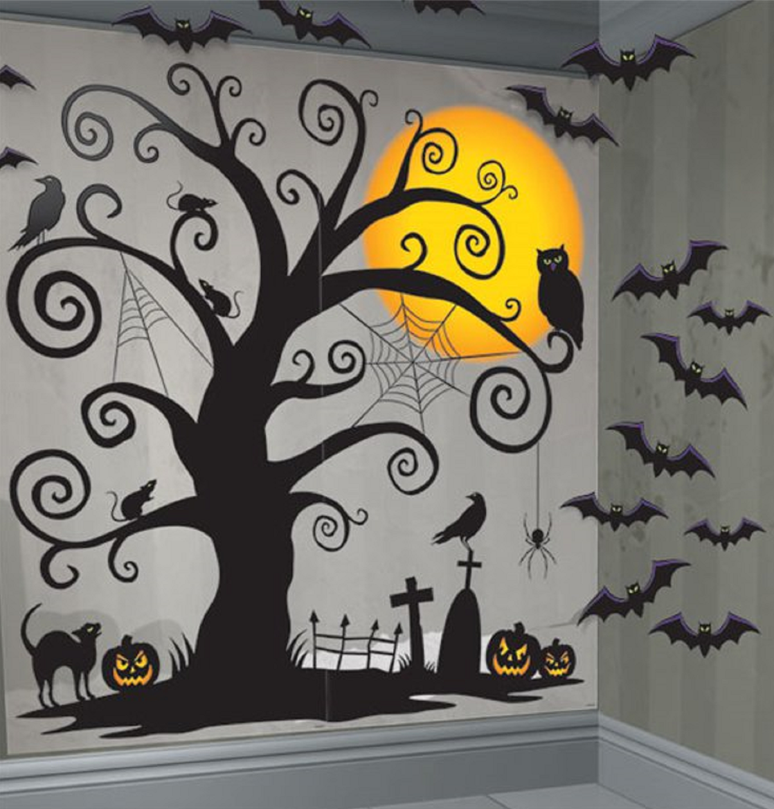 Halloween Creepy Tree Scene Decorating Kit Fancy Me Limited
