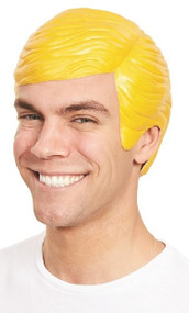 Mens President Trump Fancy Dress Latex Wig