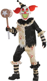 Boys Carnival Nightmare Clown Fancy Dress Costume