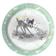 Bambi Party Plates